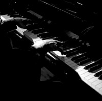 background piano music