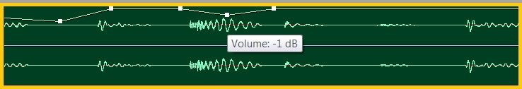Manual adjustment volume balance